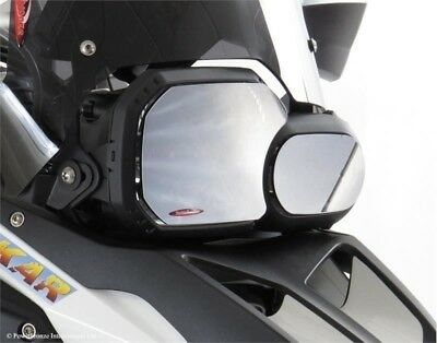 BMW F800GS Adventure 2016  Clear  Headlight Protectors by Powerbronze
