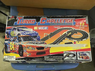 NASCAR Turbo Challenge Battery Operated Slot Car Racing