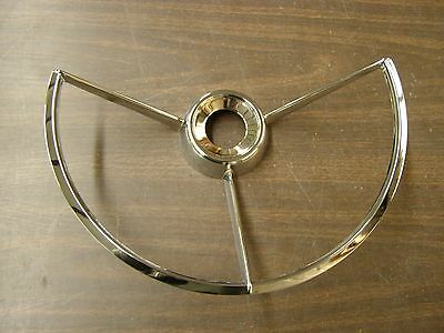 New Repro. Ford Falcon Fairlane Truck Steering Wheel Horn Ring