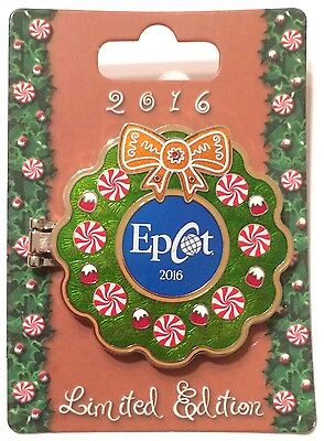 Disney Wdw 2016 Epcot Gingerbread House Chef Mickey Pin Le 1500
