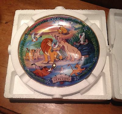 Disney's Musical Memories Plate The Lion King NEW