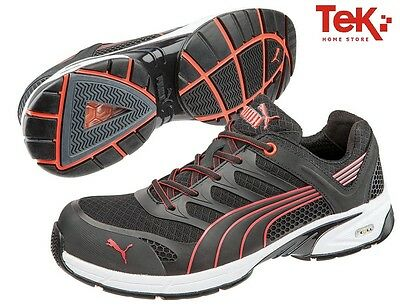 Puma Safety Original Safety Shoes Fuse Motion Red Low Sp1 D39/a47