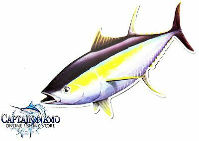 Vinyl Fishing Magnet Yellowfin Tuna Fish Magnet Boat Kayak Yellow Fin M4773