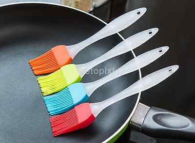 1 Silicone Baking BBQ Bakeware Cake Pastry Bread Oil Cream Cooking Basting Brush
