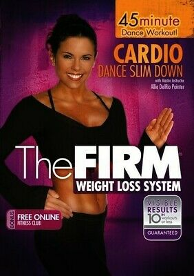 Firm: Cardio Dance Slimdown (2006, DVD NEW)