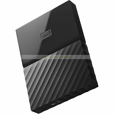 Western Digital HDD 1TB My Passport Black USB 3.0 625MB/s External Hard Drive ct
