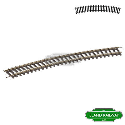 Hornby R608 Third Radius Single Curve Track Pieces Single OO Gauge 1:76 Scale