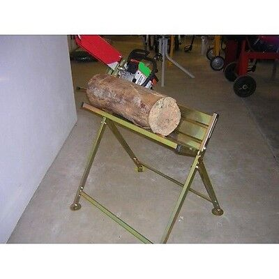 Bnib Metal Chainsaw Log Saw Horse With Chainsaw Holder For Sawing