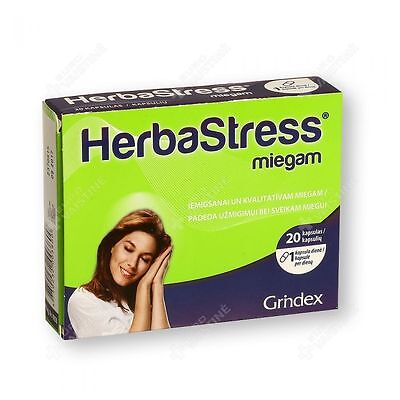 Herbastress miegam ® N20 It is  product that supports normal sleep function