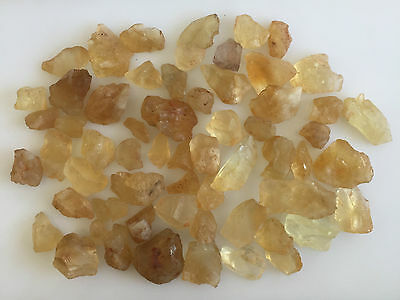 550 Ct Scoop Natural Citrine Raw Rough Yellow Brown Lot Gemstone Loose Mineral