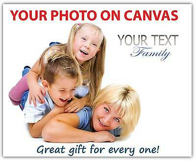Your Photo Print on Canvas custom printing own picture image A3