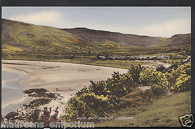 Northern Ireland Postcard - Red Bay and Glenariff    RT1999