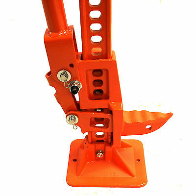 Forest Master Tree Pusher Log Lifter Felling Lever Timber Jack Saw Horse 3 Ton