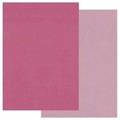 Clarity GROOVI A5 COLOURED PARCHMENT PAPER Two Tone Pack PINK x 20 GRO-AC-40188