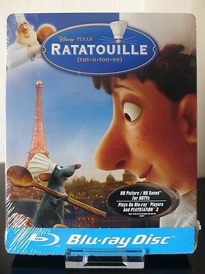 Blu ray steelbook Ratatouille Future Shop Exclusive New & Sealed NEUF avec VF