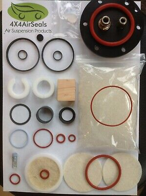 Discovery 3 Air Compressor Pump & Dryer Master Repair Kit Land Rover Hitachi
