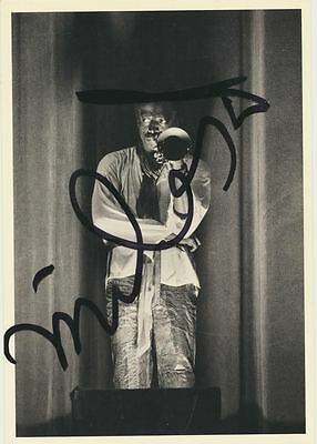 Miles DAVIS (Jazz): Signed Postcard Photograph