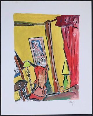 "Bob DYLAN (Songwriter, Artist): ""Bragg Apartment"" Print"