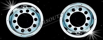 "Truck Wheel Trims Stainless Steel 22.5"" Rear Set [Truck Parts And Accessories]"
