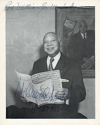 W.C. HANDY (Jazz): Signed Photograph