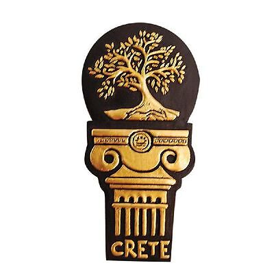 Greek Fridge Magnet - Kionas Greek Column - Olive Tree - Mythology