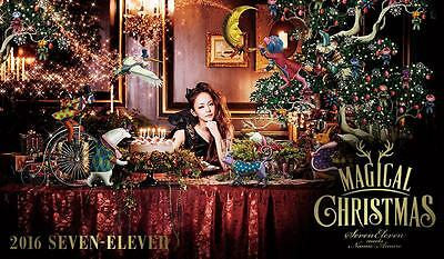 Namie Amuro Poster / Premiums of Seven Eleven Japan / From Japan / New /