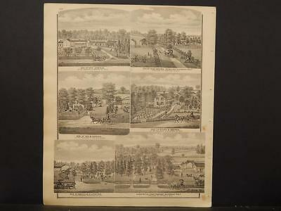 Ohio, Portage County Map, 1874, Engravings, Hinckley Tract, Beardsley, J1#25