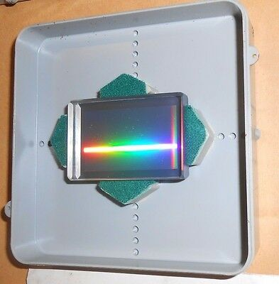Transmissive Diffraction Grating with passport