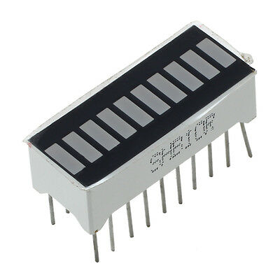 10 Segment Red LED Bar-graph Display ZH