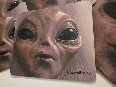 """ROSWELL NM """"1"""" UFO ALIEN MOUSE PAD SOUVENIR COLLECTIBLE 9.25 x 8 INCHES #3"""