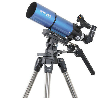 Meade 80mm AZ Refractor Telescope Space Astronomical with Finderscope UK Local