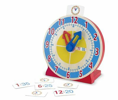 Telling Time Clock - Learning Fun Toy by Melissa & Doug (4284)