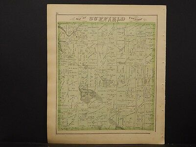 Ohio, Portage County Map, 1874, Suffiled Township, J1#43
