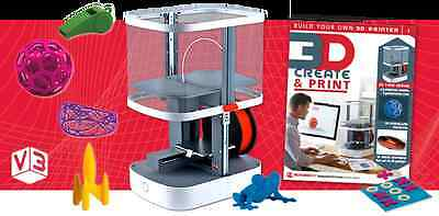 BUILD YOUR OWN 3D PRINTER 3D Create & Print Mags 1-71 Tutorials/Components, Fun!