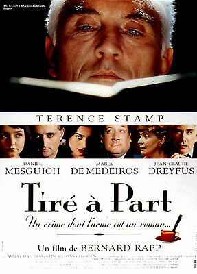 TIRÉ A PART 1997 Terence Stamp, Maria de Medeiros, Frank Finlay FRENCH POSTER