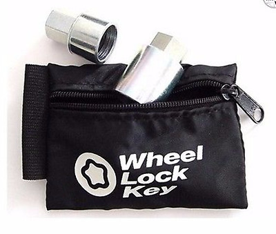 McGard Locks 70007 Wheel Key Lock Storage Pouch Black LC