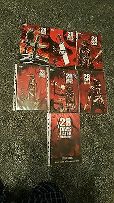 28 days later graphic novel complete collection  7 books  very rare