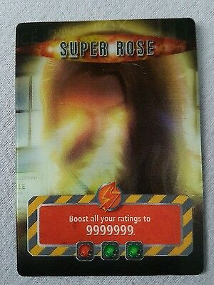 Doctor who battles in time super rose infinite card - stocking filler