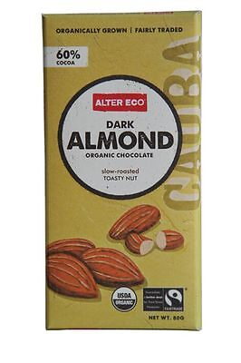 ALTER ECO Dark Almond Chocolate 80g x 2