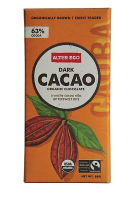 ALTER ECO Dark Cacao Chocolate 80g