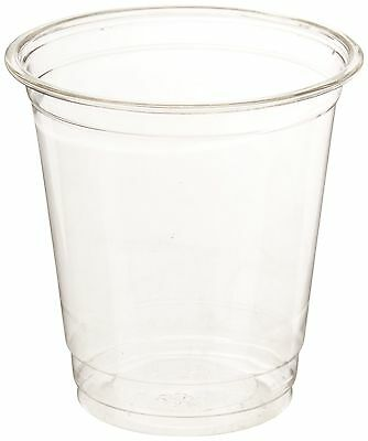 Green Direct Plastic Ultra Clear Cups With Flat Lids for Iced Coffee Bubb... New