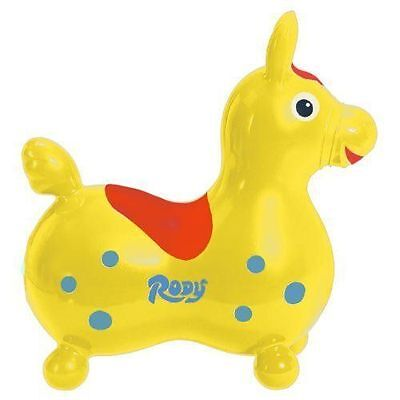 Rody Horse - Yellow - Ride-On Toys by Toy Marketing (7012)