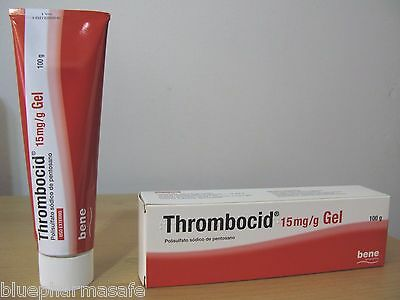 THROMBOCID GEL 100G - Antivaricose Therapy 15mg/g - Topical use