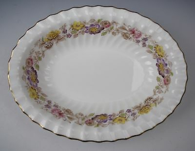 "Royal Doulton China MAYFAIR-TINTED 10"" Oval Vegetable Bowl EXCELLENT"