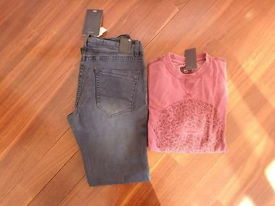 """Free Post Mens NWT Surf Brand Clothes,Quicksilver, Size L & 34"""""""
