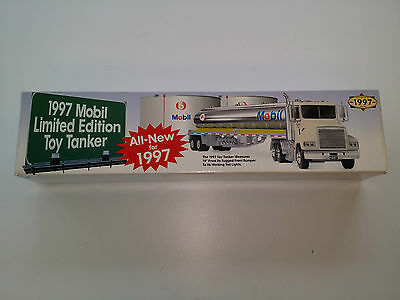 1997 Mobil Limited Edition Toy Tanker 1/43 Scale