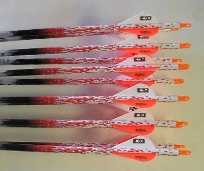 Easton ST Axis Full Metal Jacket Arrows 400 w/Blazer Vanes Rain Wraps 1 Dz