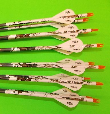 Easton ST Axis Full Metal Jacket Arrows 340 w/Blazer Vanes Blaze Wraps 1 Dz
