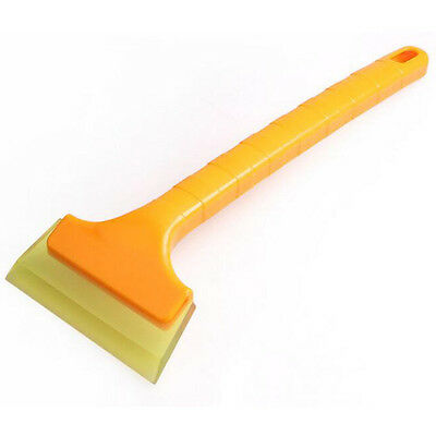 Universal Car Window Scraper Wrapping Film Tinting Squeegee Cleaning Snow Tool