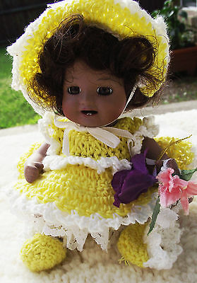 6in SUNSHINE PATRICIA LOVELESS ANTIQUE REPRODUCTION DOLL JDK KESTNER MINIATURE